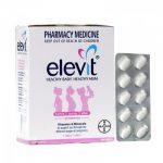 Vitamin cho bà bầu Elevit mẫu mới Review
