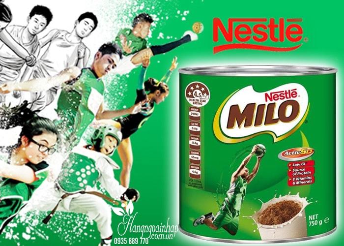 Công dụng Sữa  Nestle Milo của Úc