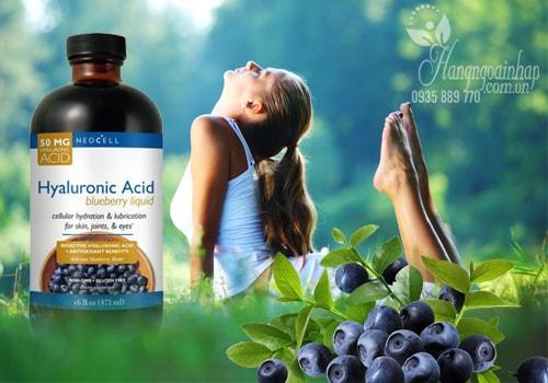 Bổ sung hyaluronic acid bằng dạng uống