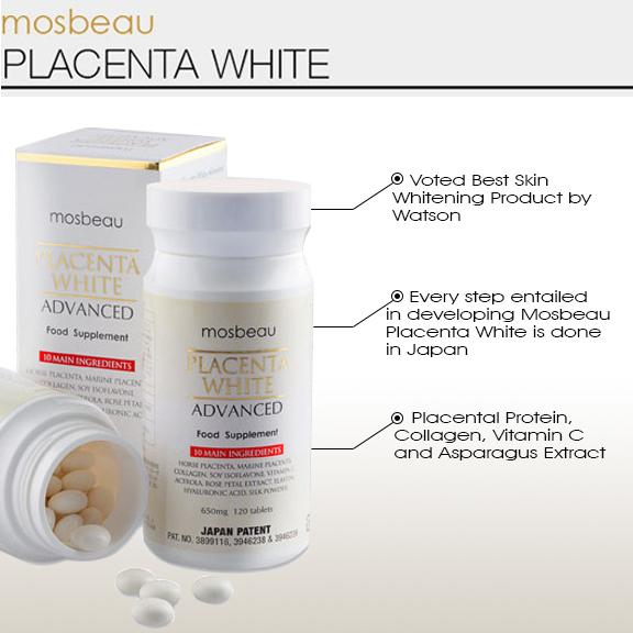Mosbeau Placenta White của nhật giá bao nhiêu