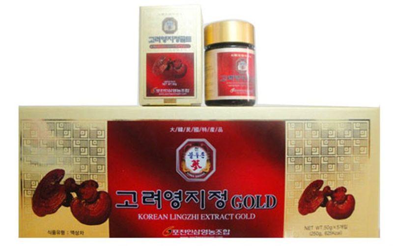 Korean lingzhi extract gold là gì ? công dụng như thế nào ?