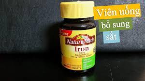 Nature made iron là  thuốc gì - có tốt không ?