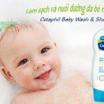 Hướng dẫn cách sử dụng sữa tắm Cetaphil Baby chính xác nhất