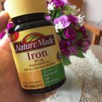 Thuốc Nature Made Iron của Mỹ có công dụng gì?