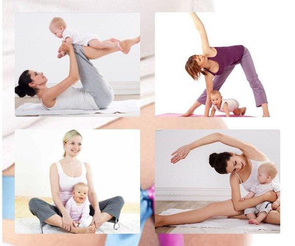 Tập thể dục bằng các động tác luyện cơ bụng