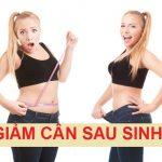 Làm sao để giảm mỡ bụng sau sinh an toàn ???