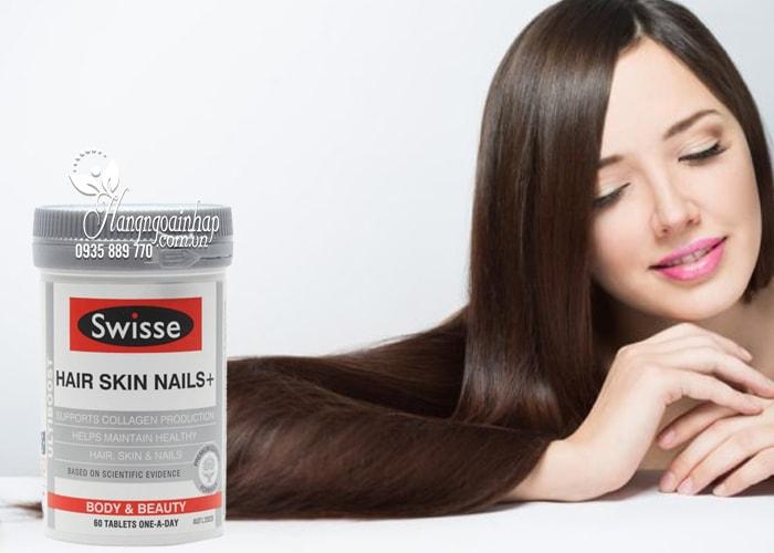 Công dụng của viên uống swisse hair skin nails-1