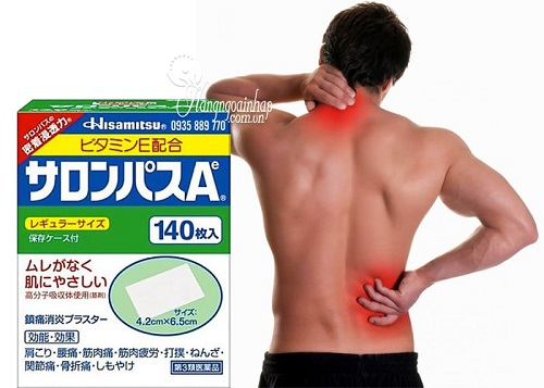 Miếng dán đau lưng của Nhật-1