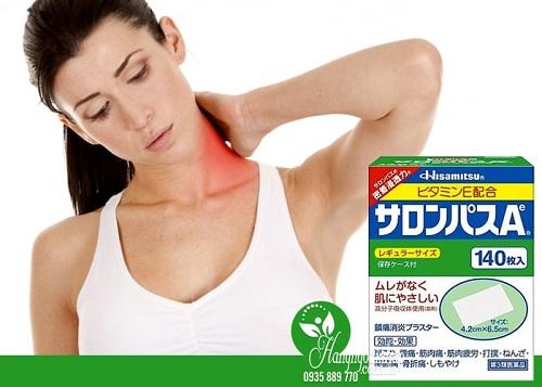 Miếng dán đau lưng của Nhật-3