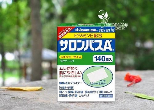 Miếng dán đau lưng của Nhật-4