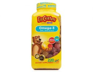 Kẹo dẻo Omega-3 DHA Gummy Fish có tốt không-1