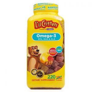 Kẹo dẻo Omega-3 DHA Gummy Fish có tốt không?