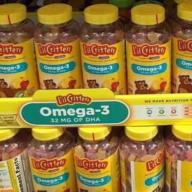 Kẹo dẻo Omega-3 DHA Gummy Fish có tốt không-3