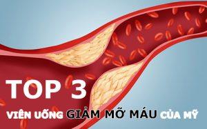 Thuốc giảm mỡ máu của Mỹ loại nào tốt nhất-1