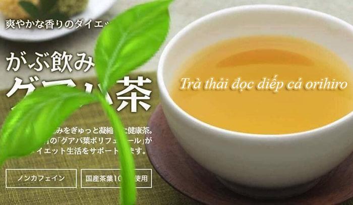 công dụng của trà diếp cá Nhật Bản