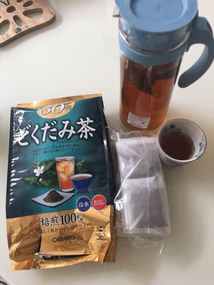 công dụng của trà diếp cá Nhật Bản ảnh 2