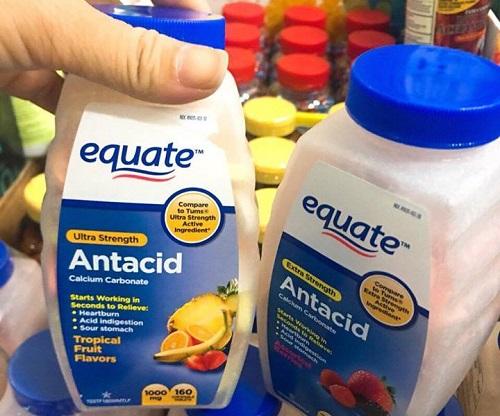 Cách dùng viên nhai trị đau dạ dày Equate-1