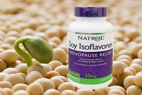 công dụng của tinh chất mầm đậu nành Natrol Soy Isoflavones-1