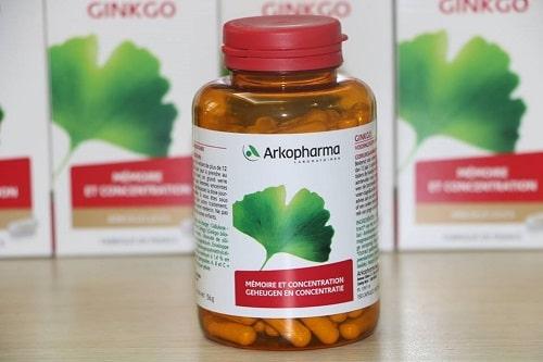Cách dùng thuốc bổ não Arkopharma Ginkgo-3