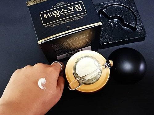 Cách sử dụng kem trị nám Dongsung Rannce Cream-1