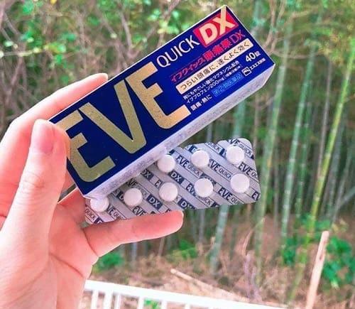 Cách sử dụng thuốc Eve Quick DX của Nhật-1