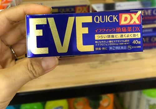 Cách sử dụng thuốc Eve Quick DX của Nhật-2