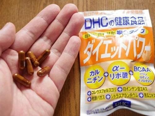 Công dụng và tác hại của thuốc giảm cân DHC Diet Power Topawa-1