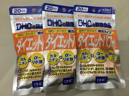 Công dụng và tác hại của thuốc giảm cân DHC Diet Power Topawa-3
