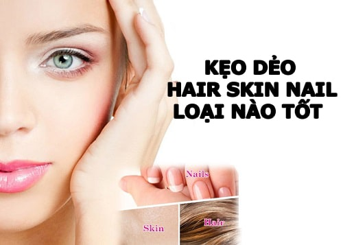 Kẹo dẻo Hair Skin Nail loại nào tốt-1
