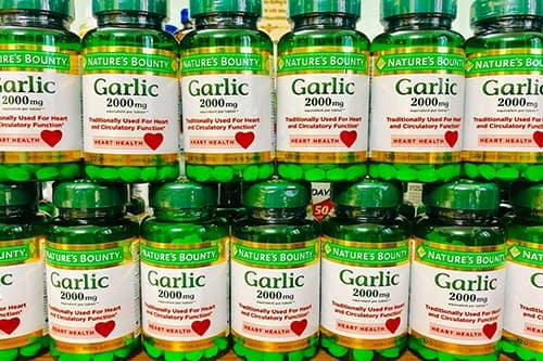 Tinh dầu tỏi Garlic 2000mg giá bao nhiêu-1