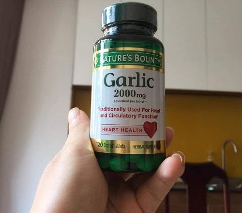Tinh dầu tỏi Garlic 2000mg giá bao nhiêu-2