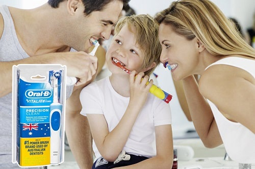 Bàn chải điện Oral B Vitality có tốt không-3