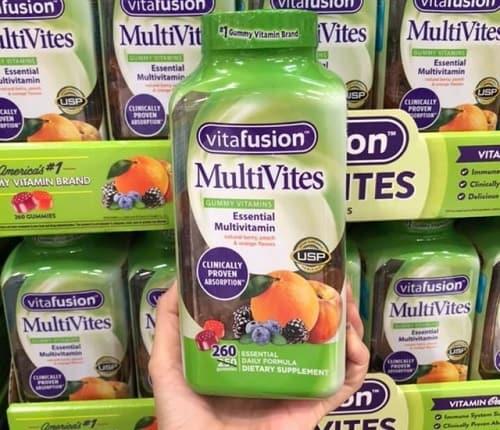 Công dụng của kẹo dẻo vitamin tổng hợp Vitafusion Multivites-1