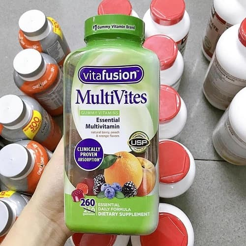 Công dụng của kẹo dẻo vitamin tổng hợp Vitafusion Multivites-2
