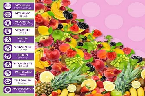 Công dụng của kẹo dẻo vitamin tổng hợp Vitafusion Multivites-3