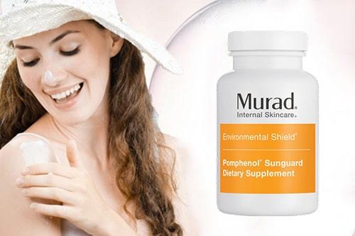 Cách dùng viên uống chống nắng Murad hiệu quả-1