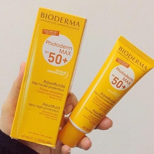 Công dụng của kem chống nắng Bioderma Photoderm Max-3