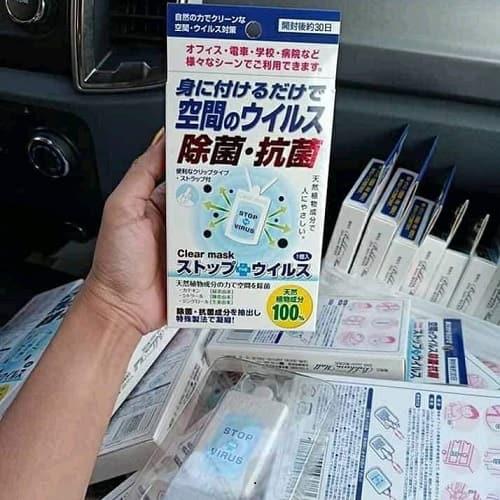 Thẻ đeo Clear Mask Stop Virus có công dụng gì-1