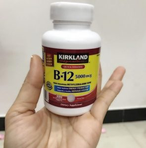 Viên uống vitamin B12 5000mcg Kirkland giá bao nhiêu-1