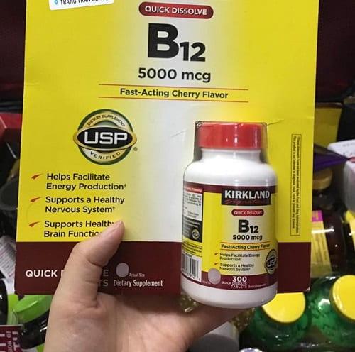 Viên uống vitamin B12 5000mcg Kirkland giá bao nhiêu-2