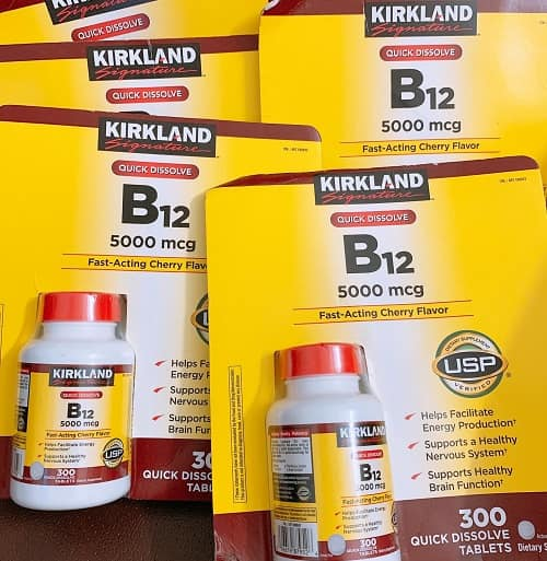Viên uống vitamin B12 5000mcg Kirkland giá bao nhiêu-3