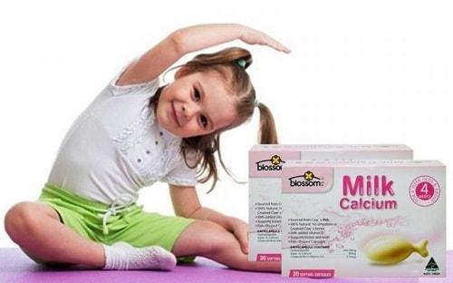 Milk Calcium Blossom 30 viên giá bao nhiêu-2