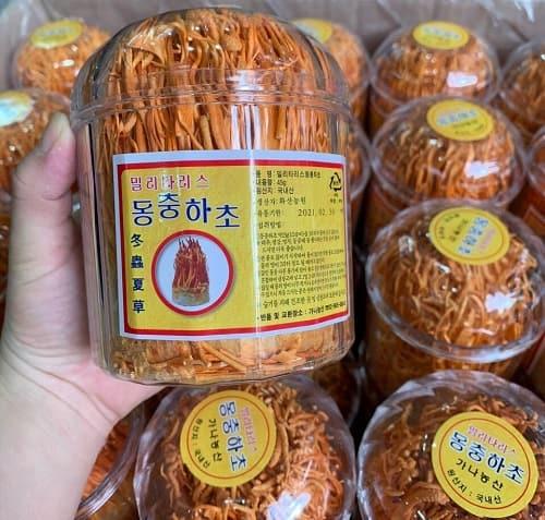 Cách sử dụng đông trùng hạ thảo khô Hàn Quốc-1