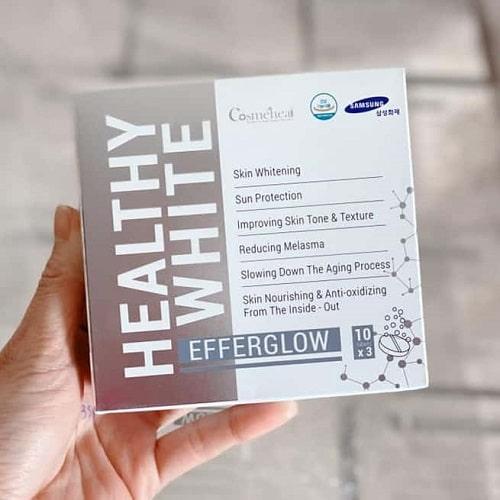 Cách sử dụng viên sủi trắng da Healthy White hiệu quả-2