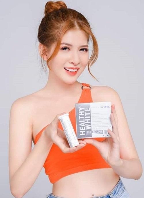 Cách sử dụng viên sủi trắng da Healthy White hiệu quả-4