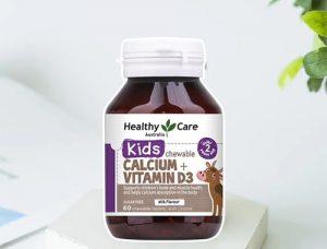 Viên nhai Healthy Care Calcium + Vitamin D3 có công dụng gì-1