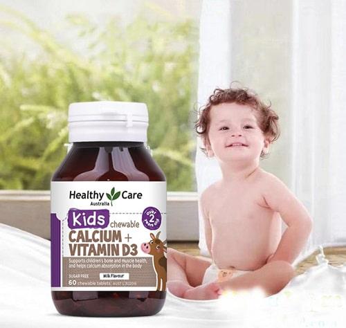 Viên nhai Healthy Care Calcium + Vitamin D3 có công dụng gì-3
