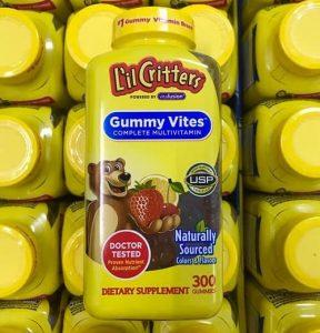Review kẹo dẻo Gummy Vites 300 viên của Mỹ-1