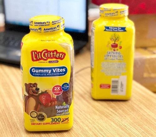 Review kẹo dẻo Gummy Vites 300 viên của Mỹ-3