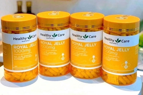 Sữa ong chúa Healthy Care Royal Jelly 1000mg review-1